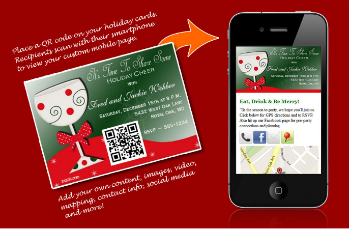 Bring Your Holiday Cards and Invitations to Life with QR