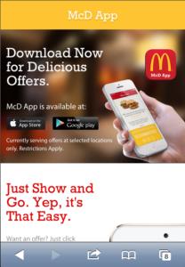 Mcdoanlds app1