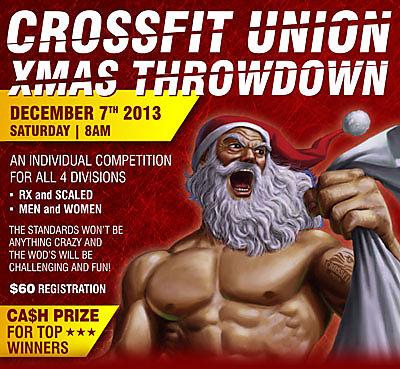 Landing Page Crossfit Union Christmas Throwdown